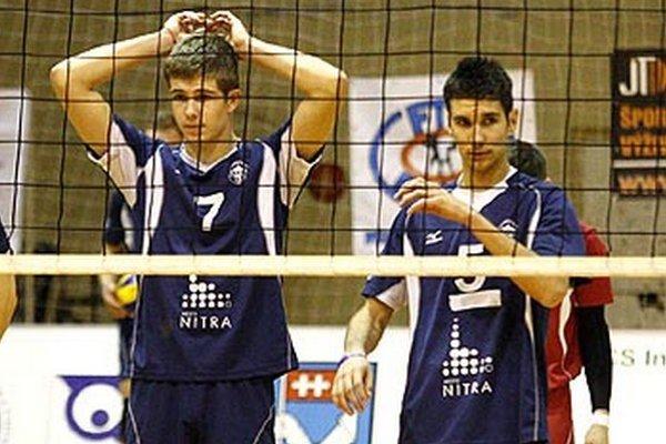 Boris Kempa (vpravo) odišiel do Kazachstanu, Peter Porubský tiež uvažuje nad odchodom z Nitry.
