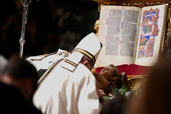 Narodenie Pána vo Vatikáne