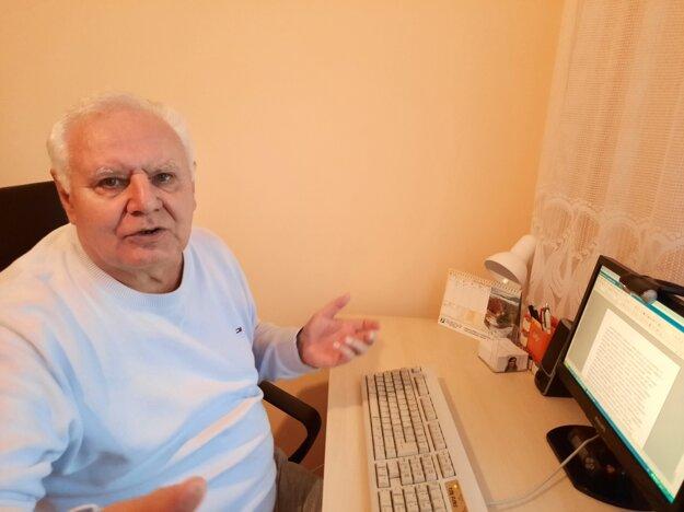 Janko Kŕč žije v Nitre, no o Turiec sa stále zaujíma.