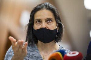 Ministerka spravodlivosti SR Mária Kolíková.