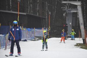 Lyžiarske strediská sú na Silvestra otvorené posledný deň.