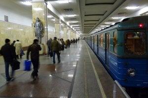 Moskovské metro, ilustračná snímka.