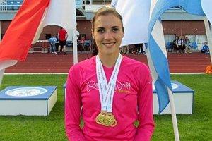 Natália Ostrožlíková má zo soboty už dve zlaté medaily.