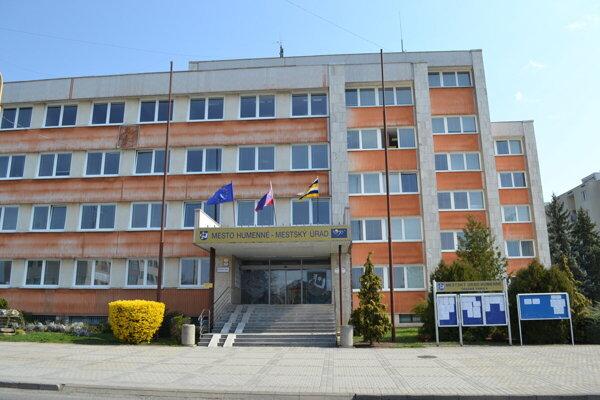 Mestský úrad Humenné.