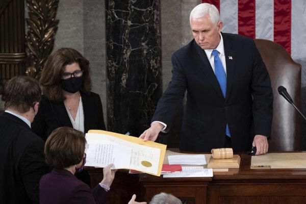 Americký viceprezident Mike Pence.
