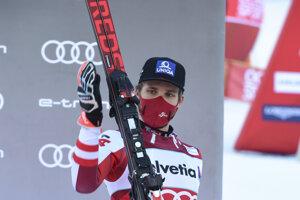 Rakúsky lyžiar Marco Schwarz.
