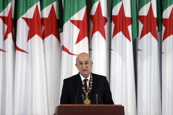 Alžírsky prezident Abdal Madžíd Tabbún.