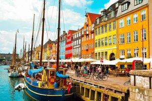 Hlavné mesto Dánska Kodaň