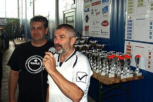 Organizátori Miloš Dovičovič (vpravo) a Juraj Bubák.