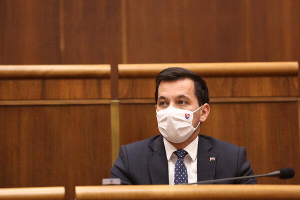 Podpredseda Národnej rady SR (NR SR) Juraj Šeliga (Za ľudí).