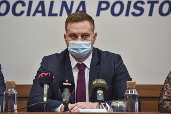 Generálny riaditeľ Sociálnej poisťovne Juraj Káčer.