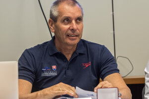 Prezident Slovenskej plaveckej federácie - Ivan Šulek.