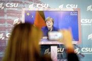 Kancelárka Angela Merkelová.