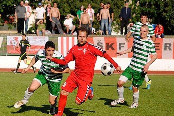 Futbalisti Serede v Novom Meste zaznamenali tretiu prehru v sezóne, druhú na jar.