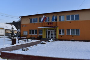 Obecný úrad v Zbudskom Dlhom.