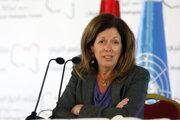 Vyslankyňa OSN pre Líbyu Stephanie Williamsová.