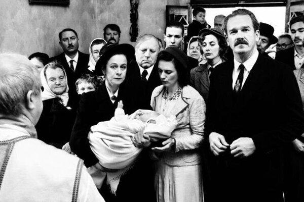 Fotografia z filmu Krajina ve stínu režiséra Bohdana Slámu.