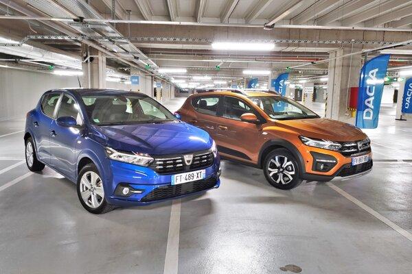 Dacia Sandero a Sandero Stepway.