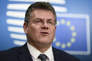 Podpredseda Európskej komisie pre medziinštitucionálne vzťahy a strategický výhľad Maroš Šefčovič.