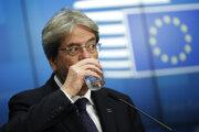 Eurokomisár pre hospodárstvo Paolo Gentiloni.