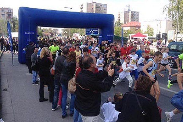 Behu Galantou sa zúčastnilo 671 bežcov, čo je nový rekord podujatia.