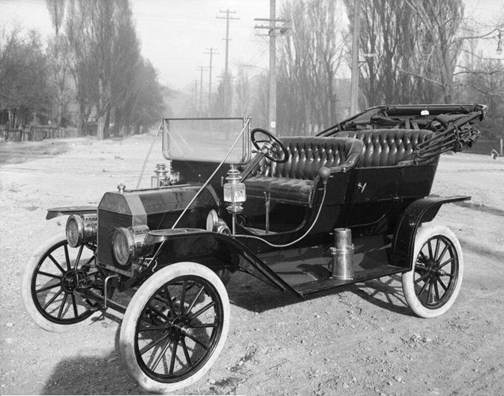 Ford Model T v roku 1910.