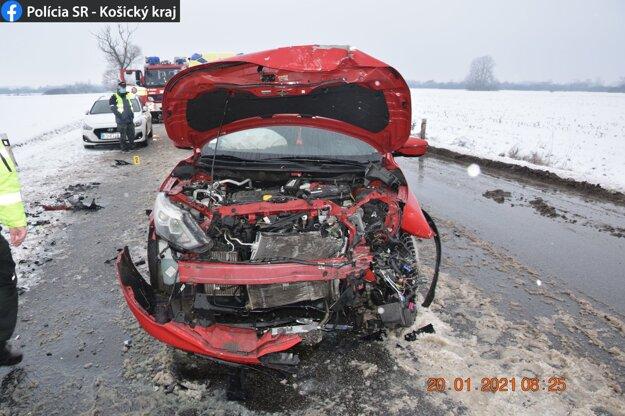 Škody po nehode budú vysoké.