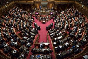 Taliansky parlament.