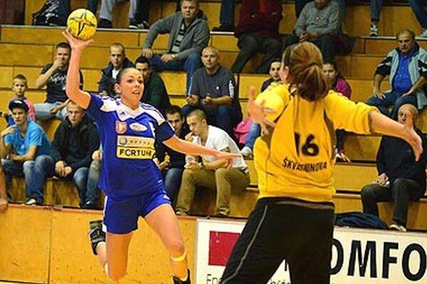 Krídelníčka Réka Bíziková strelila do siete Partizánskeho deväť gólov.