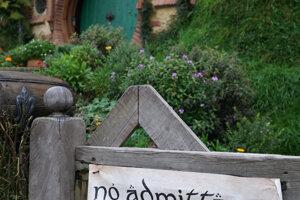 Hobbiton - filmová dedinka sa stala slávnou až po úspechu filmov Pán prsteňov.