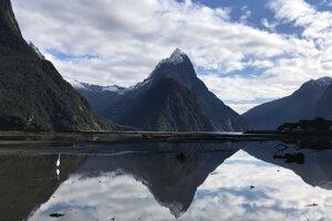 Najfotogenickejší fjord na Novom Zélande - Milford sound.