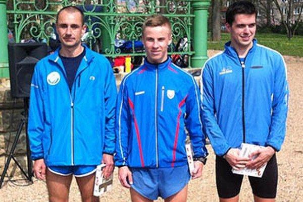 V strede víťazný Michal Morvay.