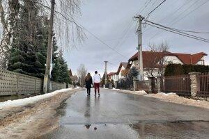 Školská ulica.