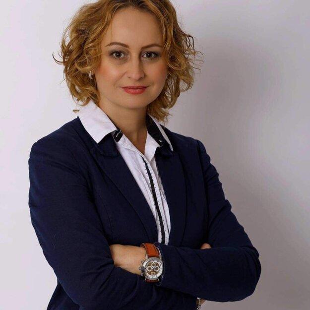Starostka Bábu Katarína Töröková.