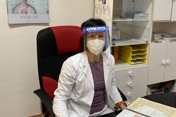 Adela Gallová, praktická lekárka pre dospelých.