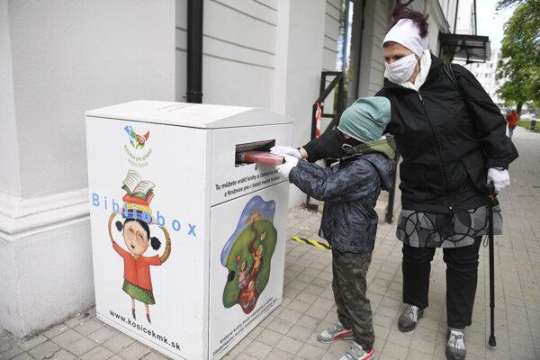 Knižnica pre deti a mládež v Košiciach.