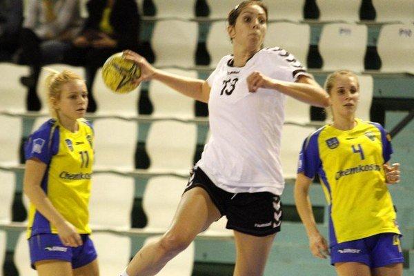 Jasmína Vargová strelila do siete Topoľčian 18 gólov.