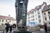 Prezidentka Čaputová si uctila obete holokaustu (fotogaléria)