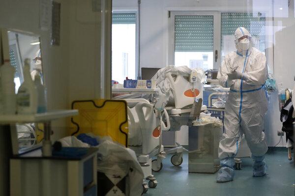 Portugalské nemocnice zažívali nápor pacientov s covidom.