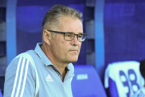 Tréner Ivan Galád.