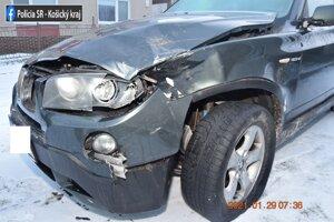 Dopravná nehoda v Rožňave.