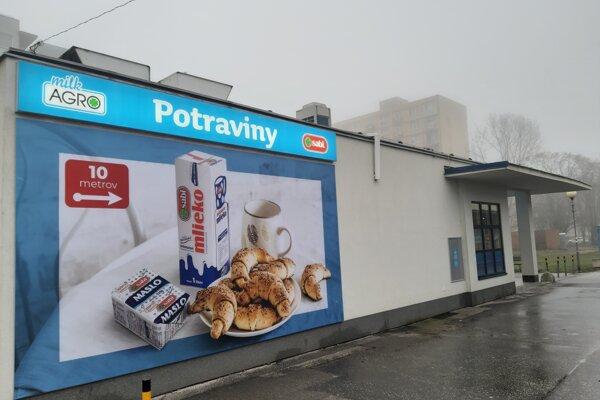 Milk-Agro v bratislavskom Ružinove.