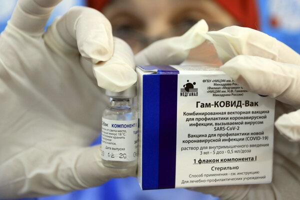 Ruská vakcína Sputnik V.