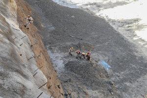 Záchranárske práce počas záplav v Indii