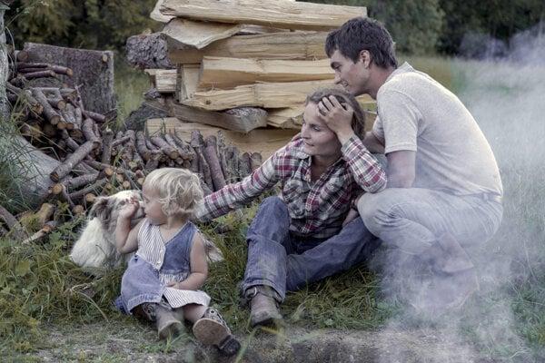 Klaudia rodinný život na ranči dokumentuje cez fotografie.