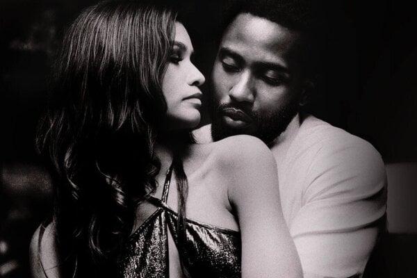 Zendaya a John David Washington vo filme Malcolm & Marie.