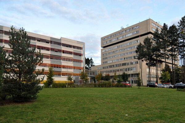 Prešovská nemocnica.