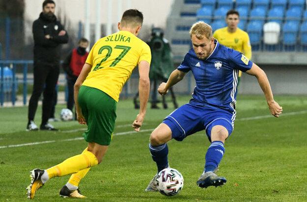Lukáš Fabiš sa z rodného klubu dostal aj do reprezentácie do 21 rokov.