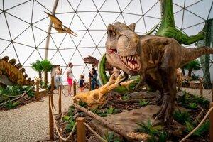 Dinopark vo Vysokých Tatrách.