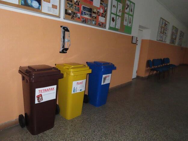 Systém recyklovania v pavilónoch